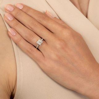 Art Deco 1.02 Carat Diamond Ring - GIA H SI1