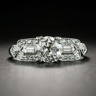 Art Deco 1.03 Carat Diamond Engagement Ring - GIA J VS2 - 2