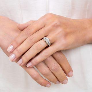 Art Deco 1.04 Carat Diamond Platinum Engagement Ring - GIA G VS1