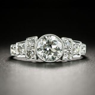 Art Deco 1.05 Carat Diamond Engagement Ring - GIA H VS1 - 2