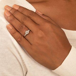 Art Deco 1.08 Carat Diamond Engagement Ring - GIA K VS1