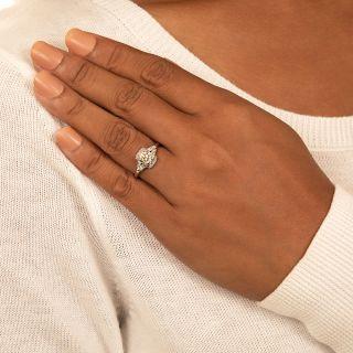 Art Deco 1.08 Carat Diamond Engagement Ring