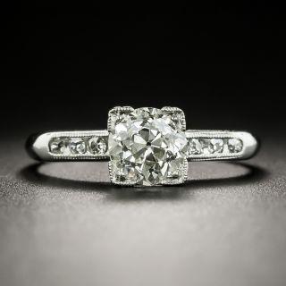 Art Deco 1.13 Carat Engagement Ring - GIA J VS2 - 3
