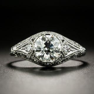 Art Deco 1.15 Carat Diamond Engagement Ring - GIA I VVS2 - 1