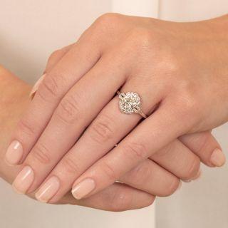 Art Deco 1.17 Carat Diamond Ring by J. Milhening Inc. -  GIA  J  VS2