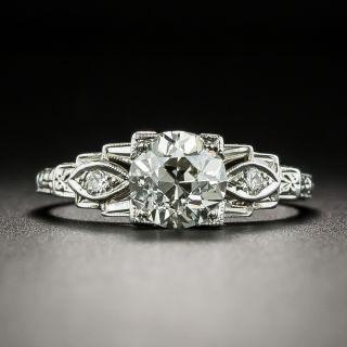 Art Deco 1.18 Carat Diamond Engagement Ring - GIA K VVS2 - 2