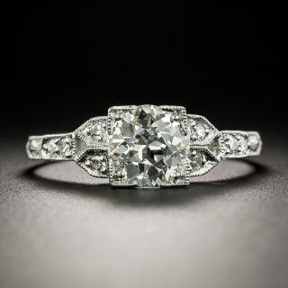 Art Deco 1.19 Carat Diamond Engagement Ring - GIA J VS1 - 2