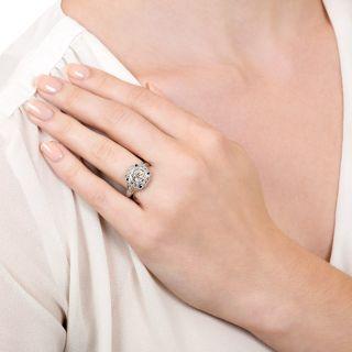 Art Deco 1.23 Carat Diamond Engagement Ring - GIA J VS2