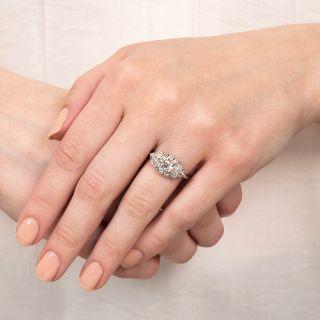 Art Deco 1.24 Carat Diamond Engagement Ring - GIA K VVS2