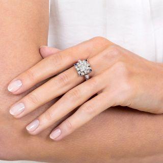 Art Deco 1.30 Carat Diamond Engagement Ring - GIA J SI2