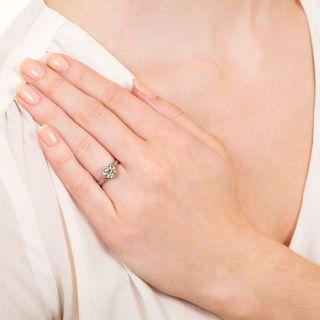 Art Deco 1.32 Carat Diamond Filigree Solitaire Ring - GIA I VS1