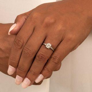 Art Deco 1.42 Carat Diamond Engagement Ring - GIA J VS2