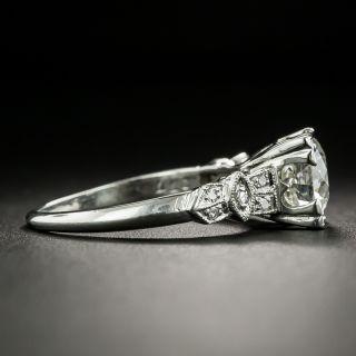 Art Deco 1.55 Carat Diamond Engagement Ring - GIA I VS 1