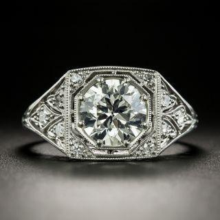 Art Deco 1.72 Carat Diamond Engagement Ring - GIA J VS2 - 2