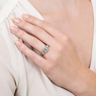 Art Deco 1.73 Carat Diamond Engagement Ring - GIA J SI1