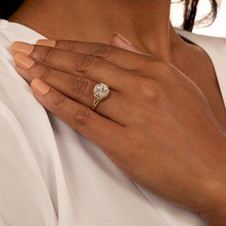 Art Deco 1.80 Carat Diamond Solitaire Ring - GIA O-P VS1