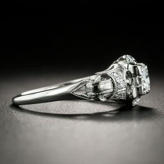 Art Deco .20 Carat Diamond Engagement Ring