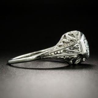 Art Deco .20 Carat Solitaire Engagement Ring
