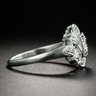 Art Deco .23 Carat Diamond Engagement Ring
