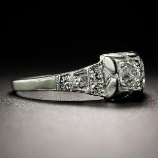 Art Deco .25 Carat Diamond Engagement Ring