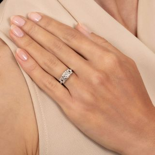 Art Deco .35 Carat Diamond Engagement Ring