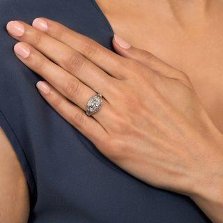 Art Deco .38 Carat Diamond Engagement Ring