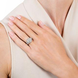 Art Deco .48 Carat Diamond Engagement Ring