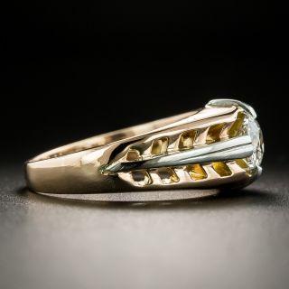 Art Deco .50 Carat Diamond Solitaire Ring