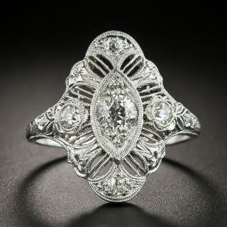Art Deco.55 Carat Diamond Dinner Ring - 2
