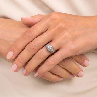 Art Deco .55 Carat Diamond Engagement Ring