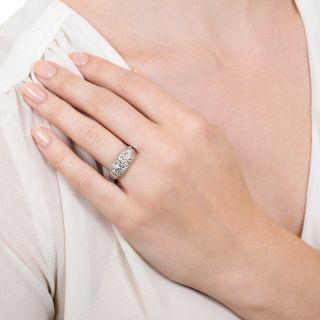 Art Deco .59 Carat Diamond Band Style Ring