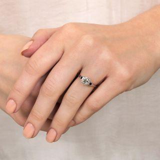 Art Deco .62 Carat Diamond Engagement Ring by Belais