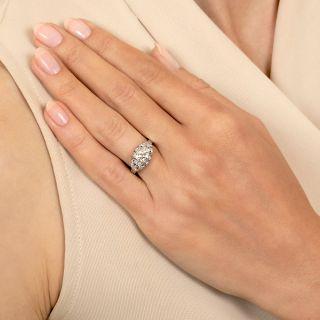 Art Deco .64 Carat Diamond Engagement Ring