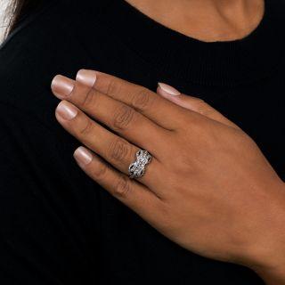 Art Deco .79 Carat Diamond Engagement Ring - GIA E VS2