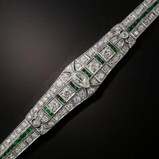 Art Deco Diamond Bracelet, Circa 1920s-1930s - 2