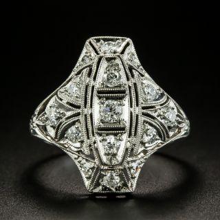 Art Deco Diamond Dinner Ring, Circa 1920s-30s - 2