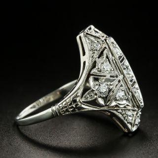 Art Deco Diamond Dinner Ring, Circa 1920s-30s