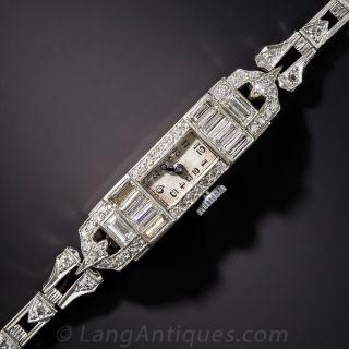 Art Deco Diamond Dress Watch