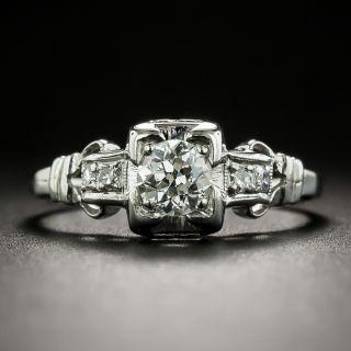 Art Deco Diamond Engagement Ring - 2