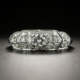 Art Deco .20 Carat Diamond Band Ring - 2