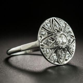 Art Deco Diamond Star Cluster Ring