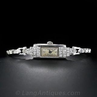 Art Deco Diamond Watch