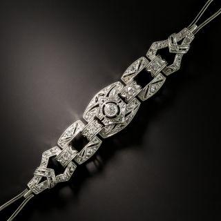 Edwardian Openlink Diamond Bracelet - 2
