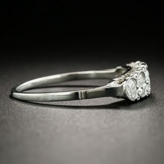 Art Deco Five-Stone Diamond Band Ring