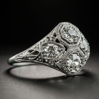 Art Deco Four-Stone Diamond Ring