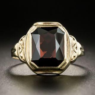 Art Deco Garnet Ring - 2
