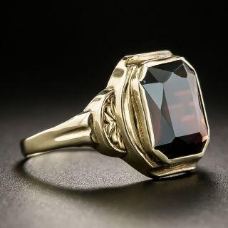 Art Deco Garnet Ring