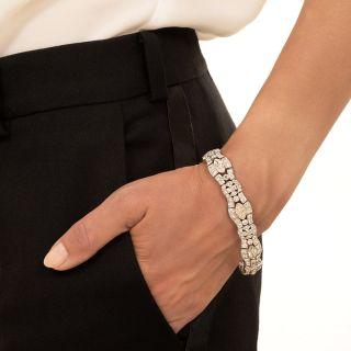 Art Deco MarquiseDiamond Bracelet