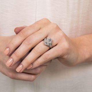Art Deco Moi et Toi Diamond Ring