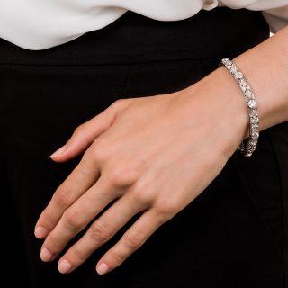Art Deco Platinum and Diamond Bracelet by Gilpin & Smith